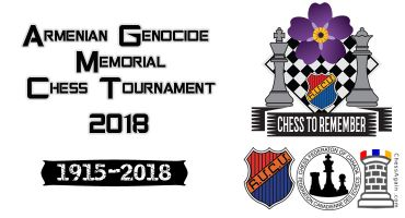 Armenian Genocide Memorial Chess Tournament 2018